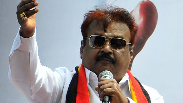 Vijayakanth announces candidates for 3 constituencies