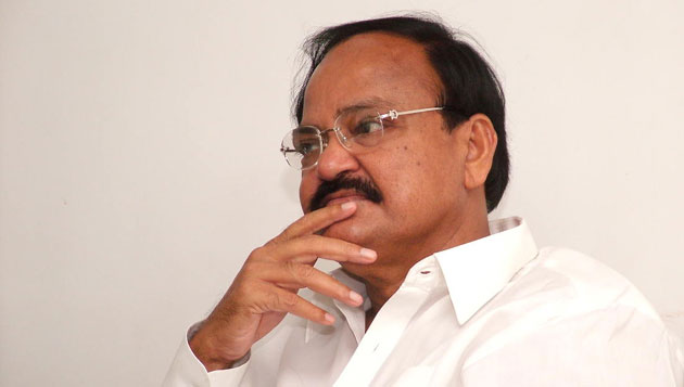 Venkaiah Naidu in Chennai, justifies ban on NDTV