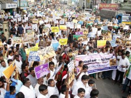 Jallikattu Tiruppur Mass Awareness Rally Photos