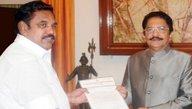 Palaniswami becomes CM with 30 ministers