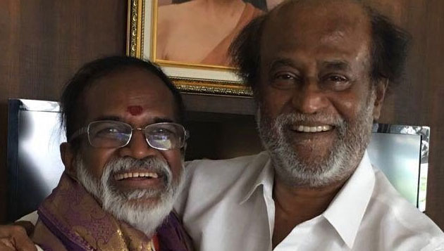 Gangai Amaran meets Rajini, seeks support
