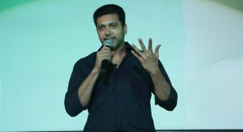 """If I am a 'Vanamagan' then director Vijay is a 'Deiva Magan"" says Jayam Ravi"