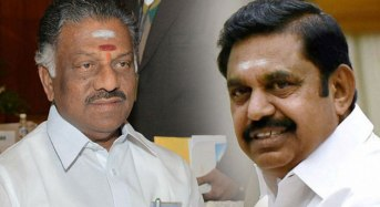 AIADMK: Both teams set up teams for merger talks