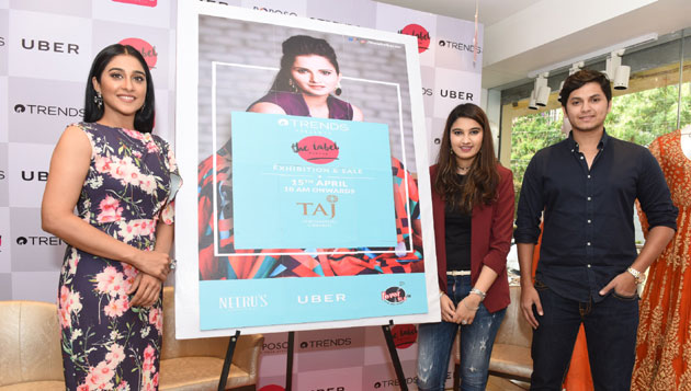 Actress Regina Cassandra pre- Launched Reliance Trends 'The Label Bazaar'