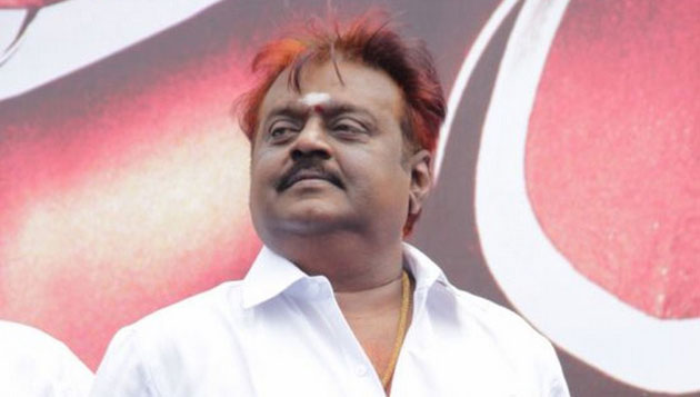 Vijayakanth back to home from hospital