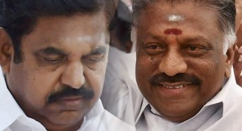 OPS, EPS to come together to remove Sasikala clan from AIADMK?