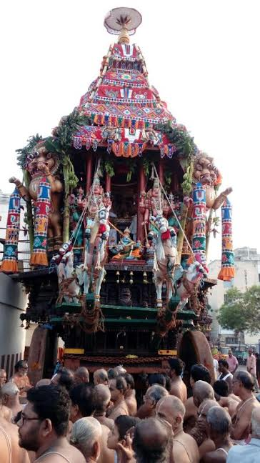 Thiruther Festival in Lord Sri Parthasarathy
