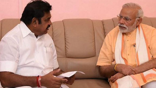 Edappadi Palaniswami's crucial meeting with PM in Delhi