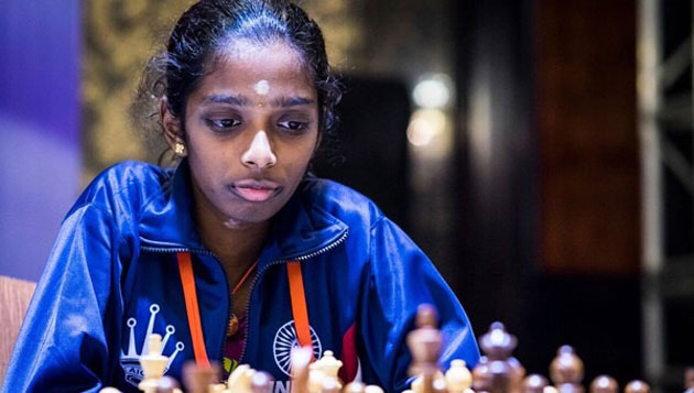 R. Vaishali wins Gold Medal in Asian Continental Women's Blitz Chess Championship
