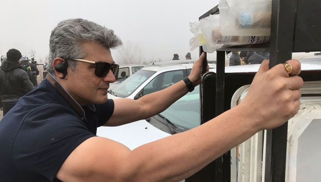 What's Ajith doing today