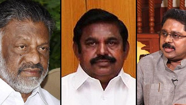 As 29 MLAs meet Dinakaran, CM & OPS go into huddle