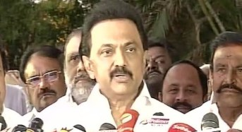 Stalin expresses doubts over stability of TN govt