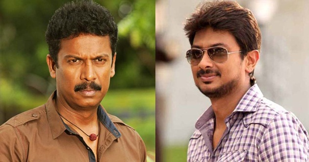 Samuthirakani turns dialogue writer for Udhayanidhi