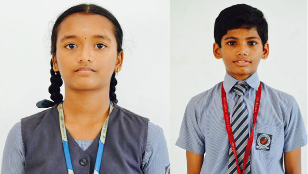 Velammal students excel in Yoga