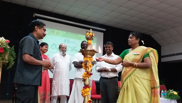 One day Training Program on Organic Farming in Anna University