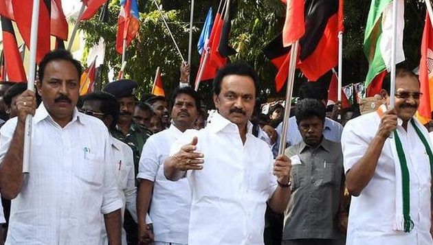 Oppn to intensify protests against bus fare hike, CM blames DMK for transport corpn's woes
