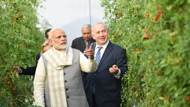 PM Modi, Israeli PM Netanyahu visit Centre of Excellence for Vegetables at Vadrad