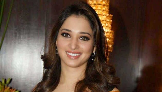 Youth throws footwear at Tamannah