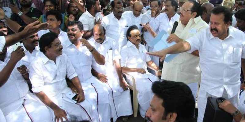 CM blames oppn, anti-socials for Tuticorin firing; Stalin arrested after dharna