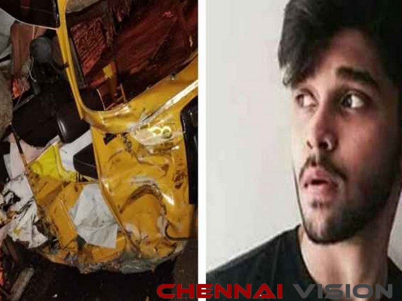 Vikram's son Dhruv's car rams into 3 autos, 1 injured