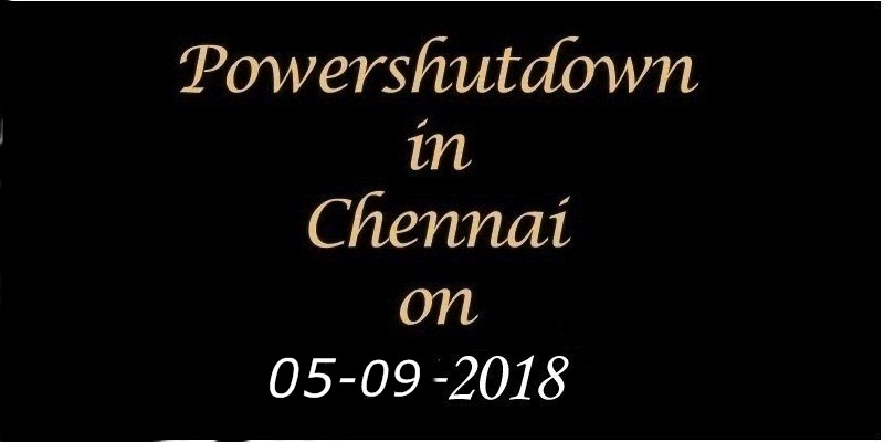 Power Shutdown 05.09.18