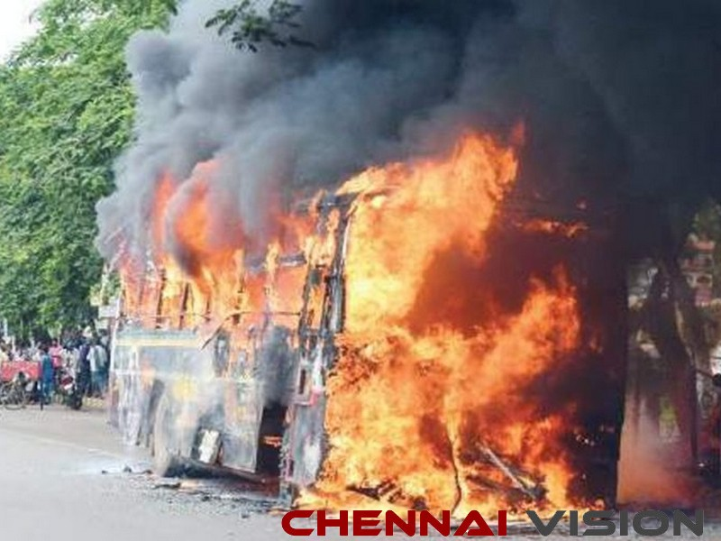 Dharmapuri bus burning case 3 convicts let off