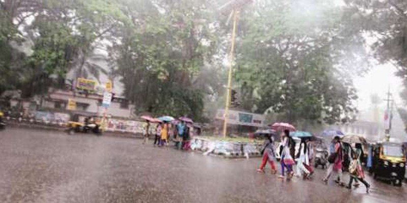 Heavy rains in delta districts, more showers predicted