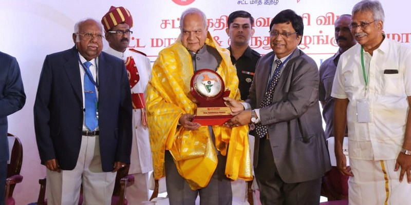 Sattakadir Silver Jubilee Conference on Law and Justice, Award Ceremony