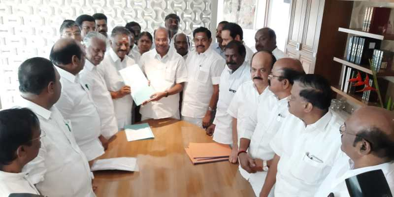 AIADMK-PMK deal sealed Ramadoss party gets 7 + 1 seats