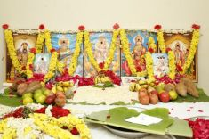 Vijay TV Fame Ramar Pairs with Sanjay Galrani Movie Pooja Stills (21)