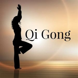 performing Qi Gong