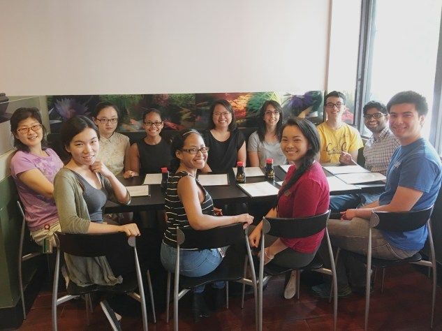 Group Lunch @ Chi Sushi Sake (7/29/2016)