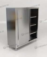 Cheong SS | Stainless Steel Upright Storage Cabinet