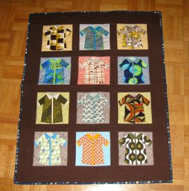 Shirts quilt prewash