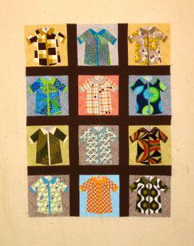 Shirts with sashing