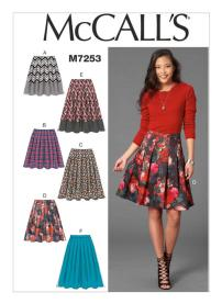 McCall's 7253. I don't usually like pleats, but these are stitched down.