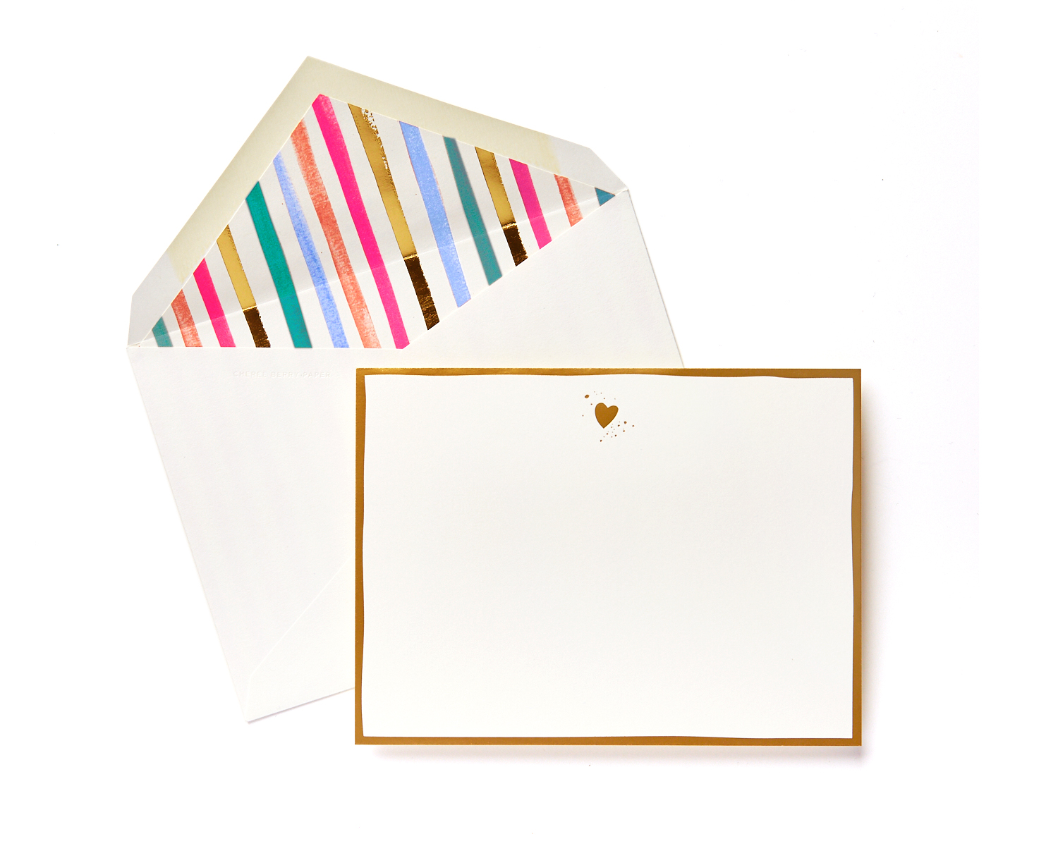 heart boxed stationery