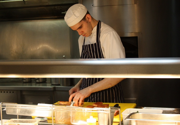 Dinner At The Chefs Table At Maze  cheriecity.co.uk
