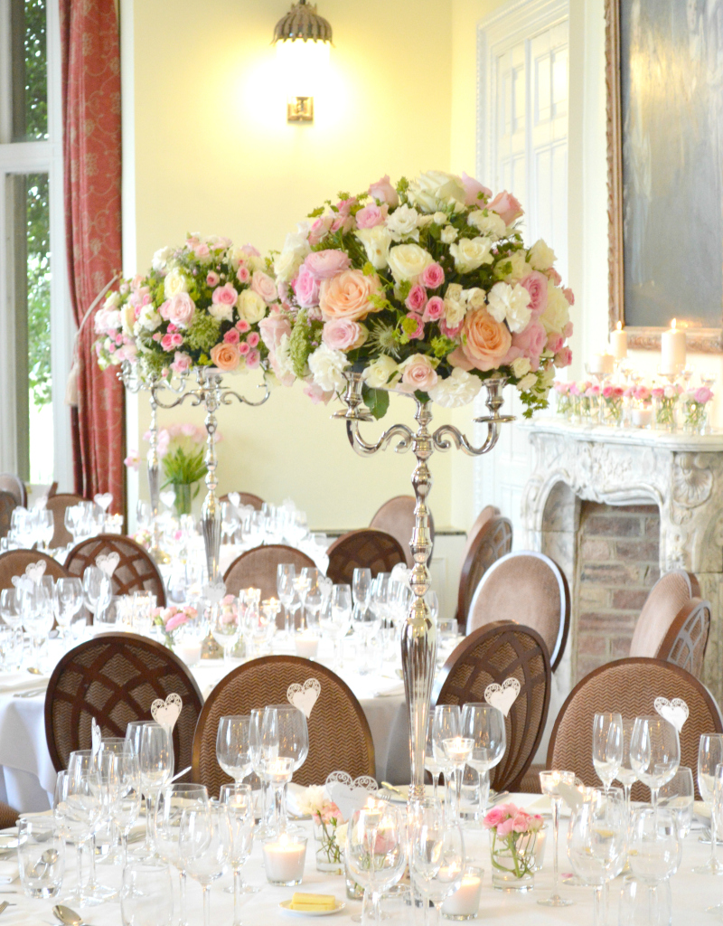 Fawsley Hall Wedding Flowers and Cake  Chrie Kelly