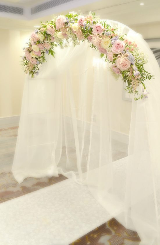 Sofitel London St James Wedding Flowers and Cake  Chrie Kelly