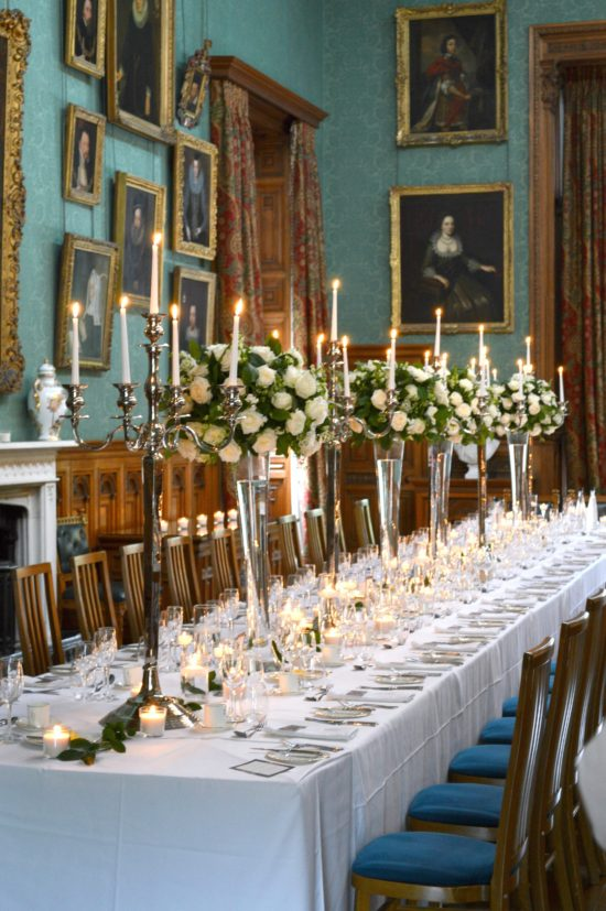 Knowsley Hall Wedding Flowers and Wedding Cake  Chrie Kelly