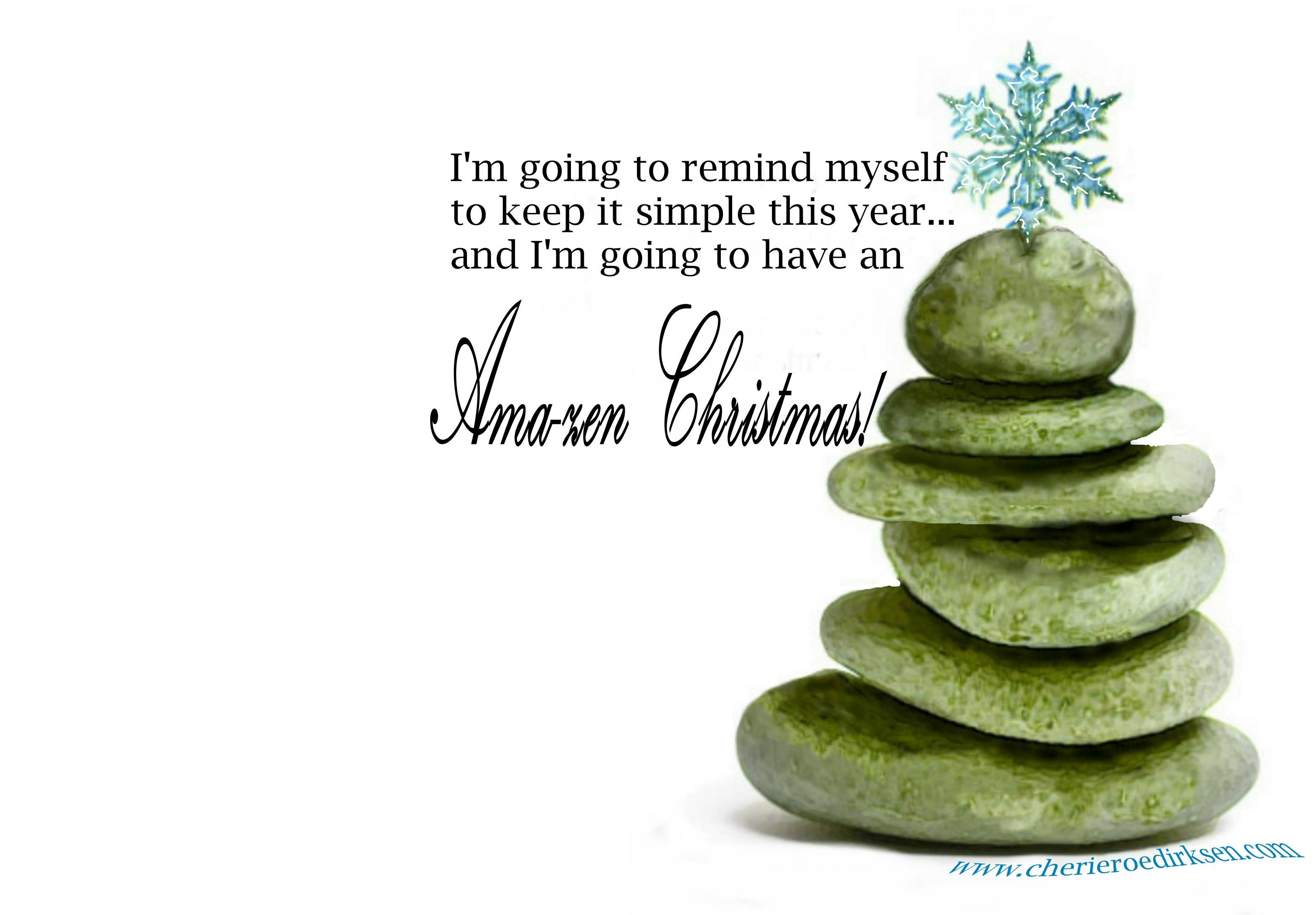 Zen Christmas Wallpaper Cherie Roe Dirksen