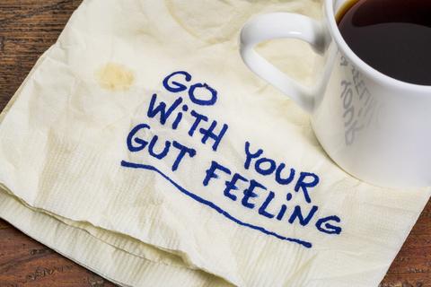 gut feeling