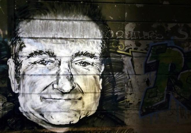 Robin Williams Graffiti Tribute