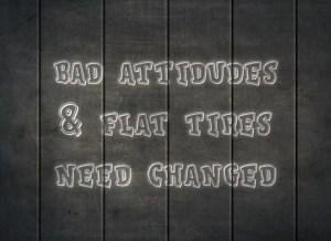 narcissist bad attitude