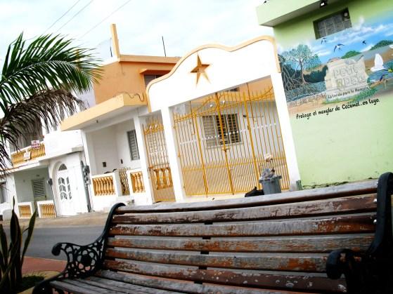 San Miguel de Cozumel bench