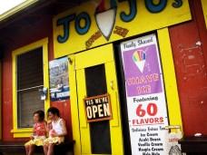 JoJo's Shave Ice in Waimea, Kauai.