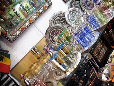 Sparkly souvenirs in the Albayzin.