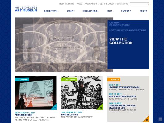 Art museum website