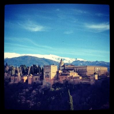 View from Mirador de San Nicolas, Granada
